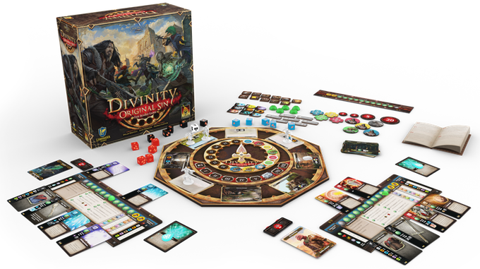 Divinity Original Sin the Board Game vs video game