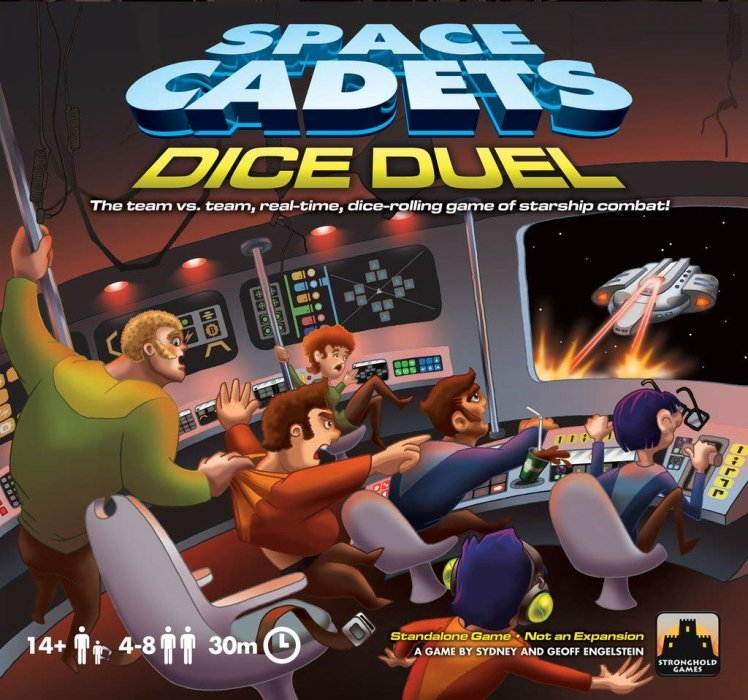 board games against the clock - space cadets dice duel