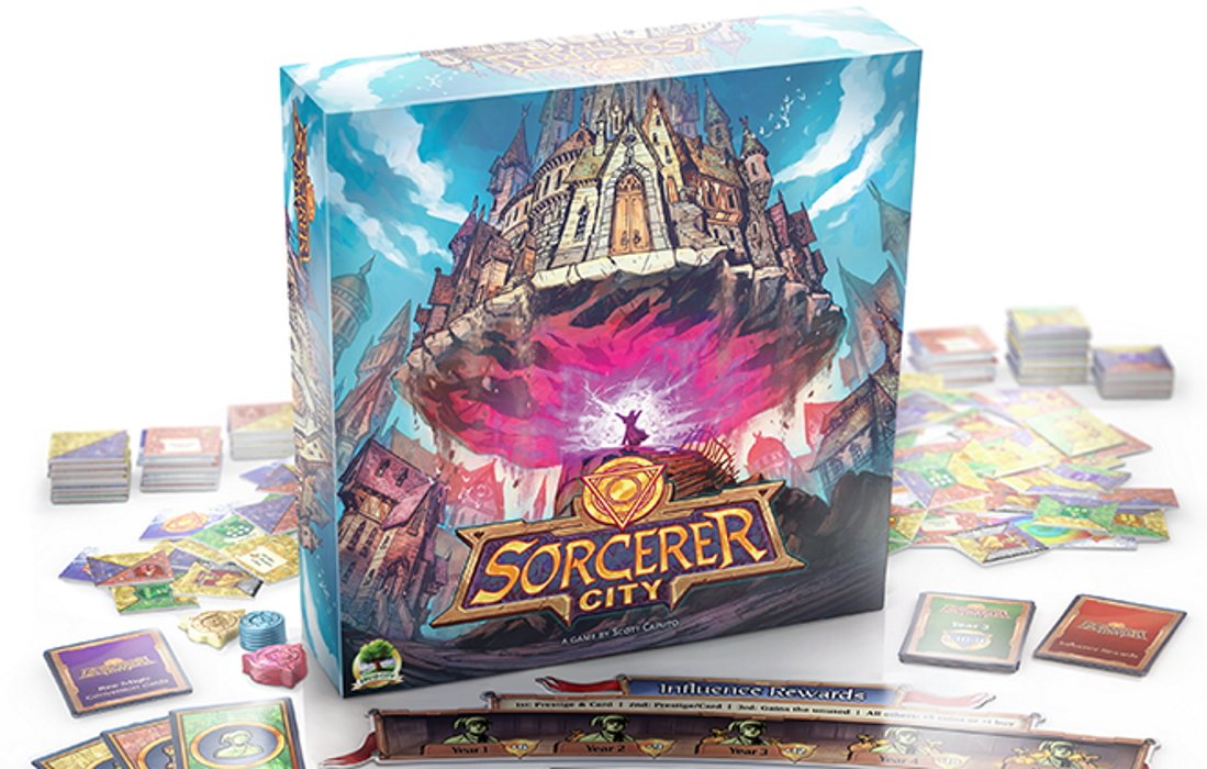 time based board games sorcerer city