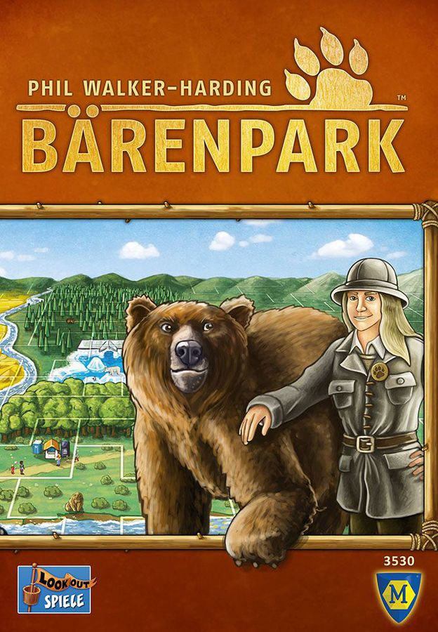 Barenpark best board game box art