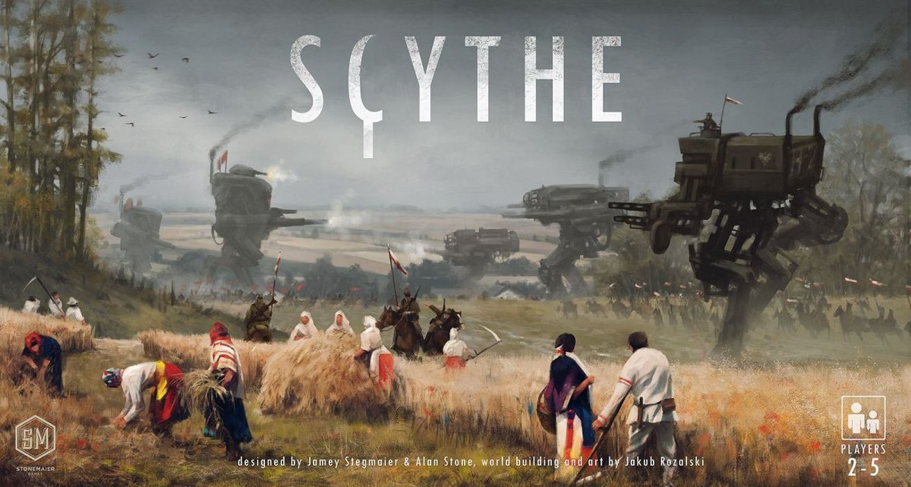 Scythe great board game box art