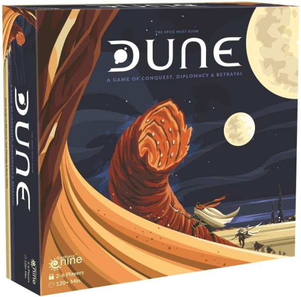 Best board games based on books Dune