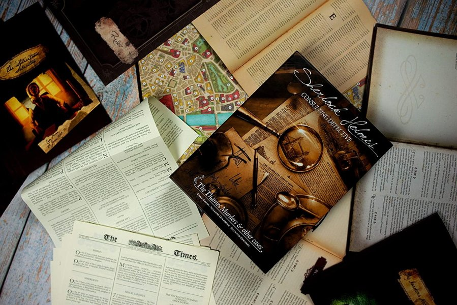 Great board games for book lovers sherlock holmes consulting detective