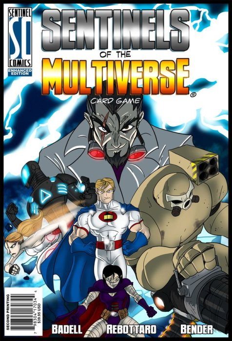 Copyright games Sentinels of the multiverse