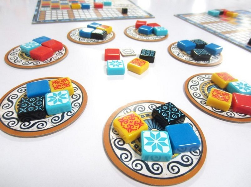 best first player board game rules - Azul