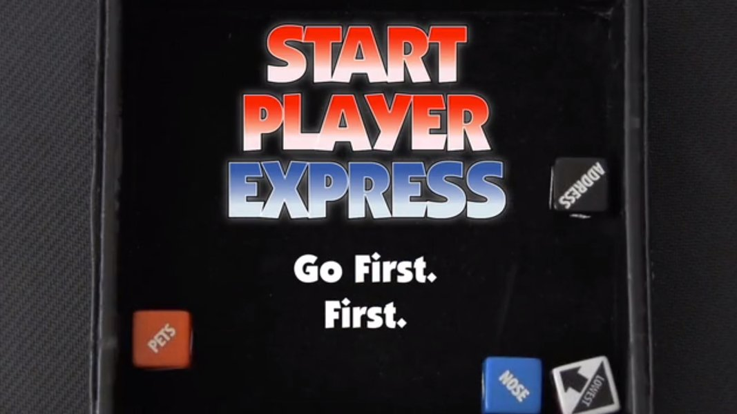 Stylish ways to pick a first player start player express