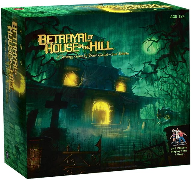 The best first player rules in board games - betrayal at house on the hill