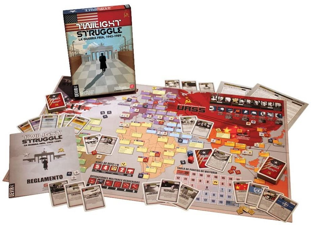 Twilight struggle war games without warfare