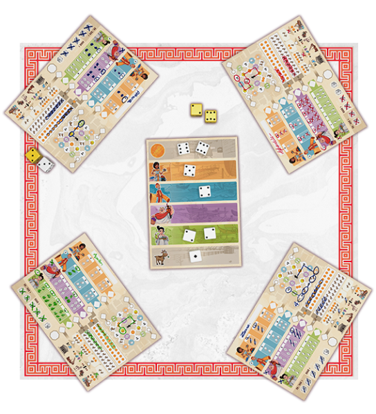 Corinth roll and write online print and play