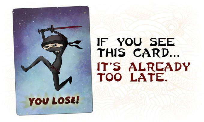 Ninja silent but deadly - metagames you can play during board games