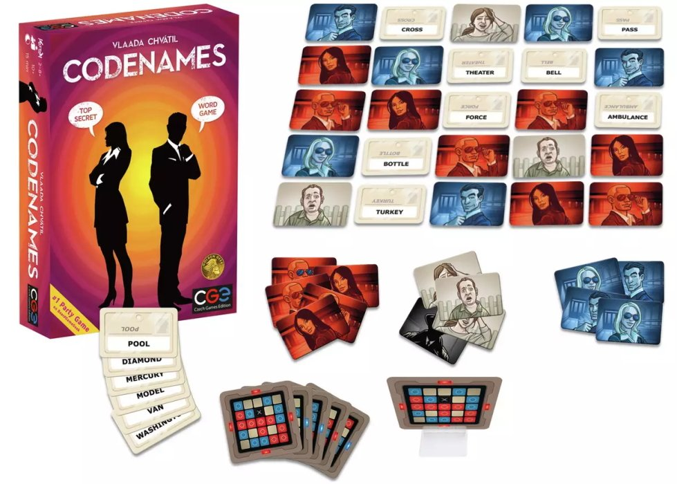 best opener board games codenames