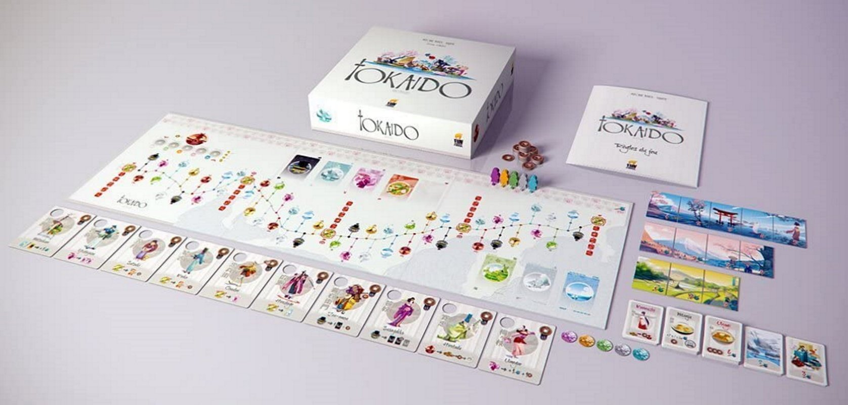 Relaxing board games to sooth your soul tokaido