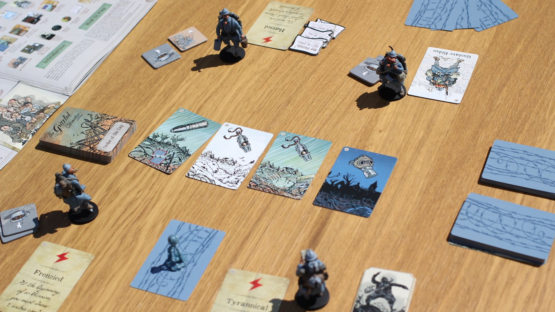 Going Analog the grizzled