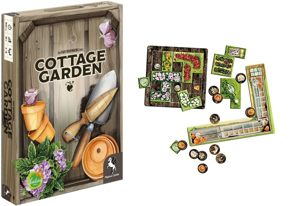 Board games milennial house owning dream cottage garden