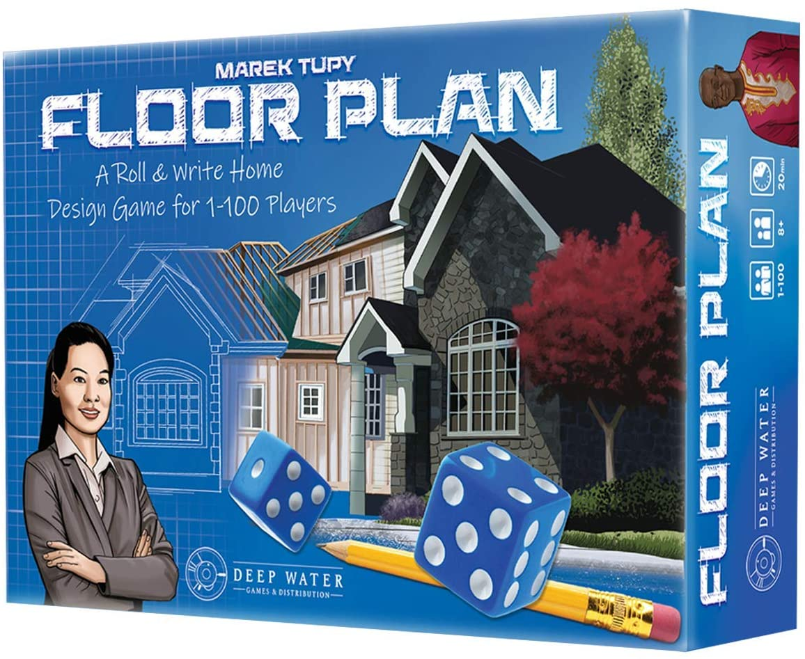 Board games that let you live the millennial house-owning dream floor plan