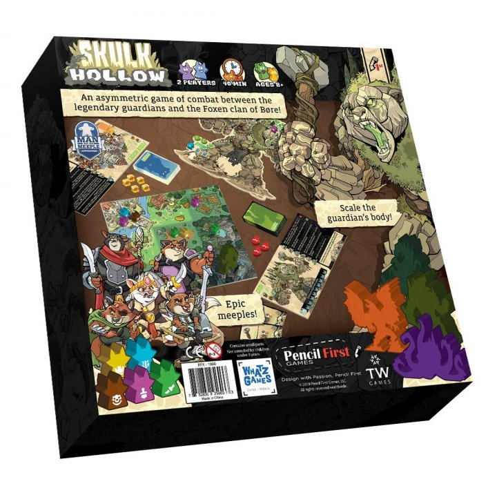 Going analog Board Gaming Sins 3 skulk hollow