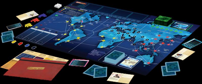 Board games like Pandemic Legacy