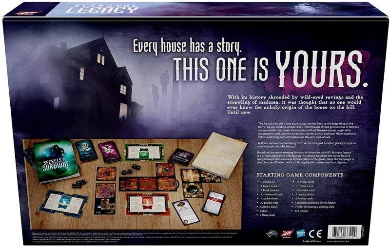 Games like pandemic legacy - Betrayal Legacy