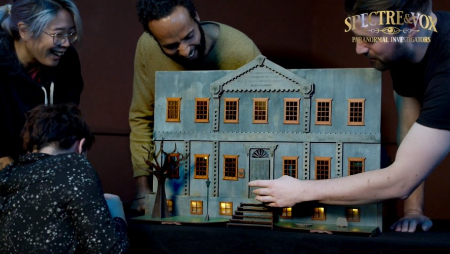 Spectre and vox interview escape room board game haunted house