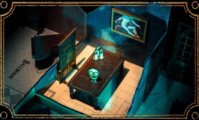 Escape room board game spectre and vox interview