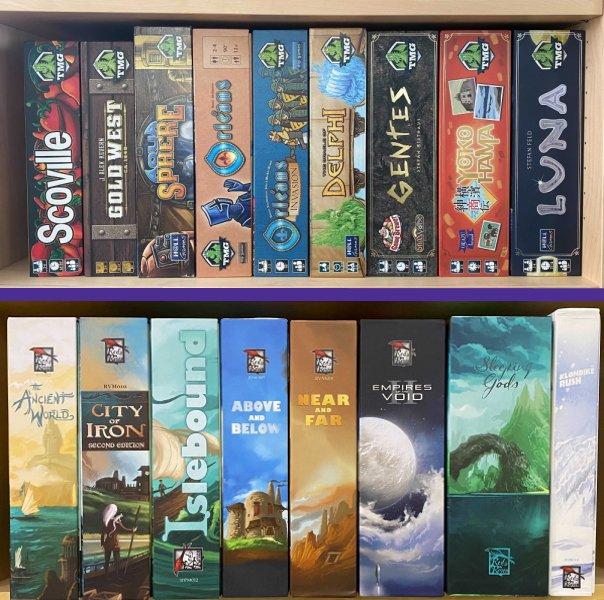 Board Gaming sins 4 inconsistent boxes logos