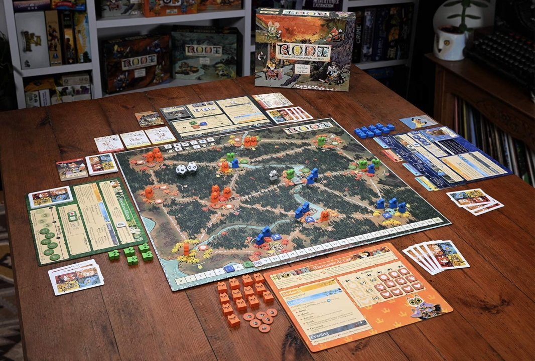 The best strategy board games root