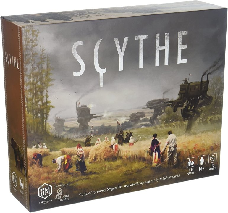 The best strategy board games scythe