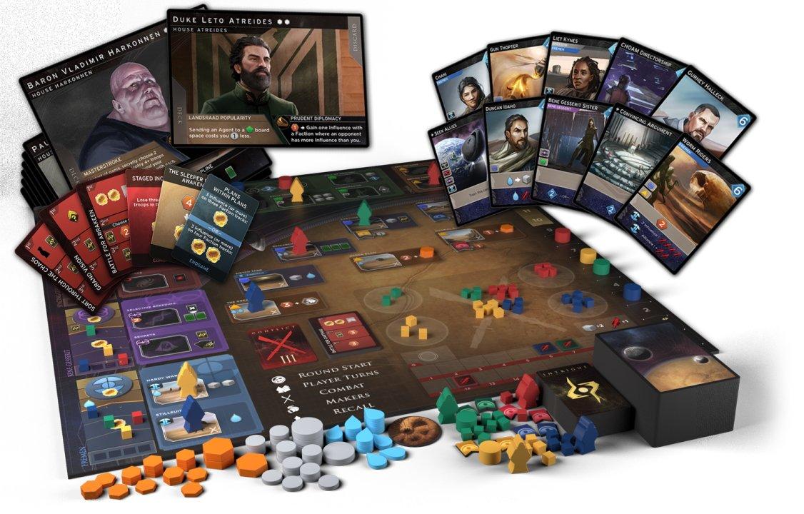 Games like Dominion dune imperium best deck builders