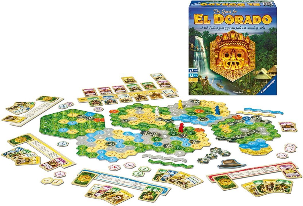 Games like dominion the quest for el dorado best deckbuilders