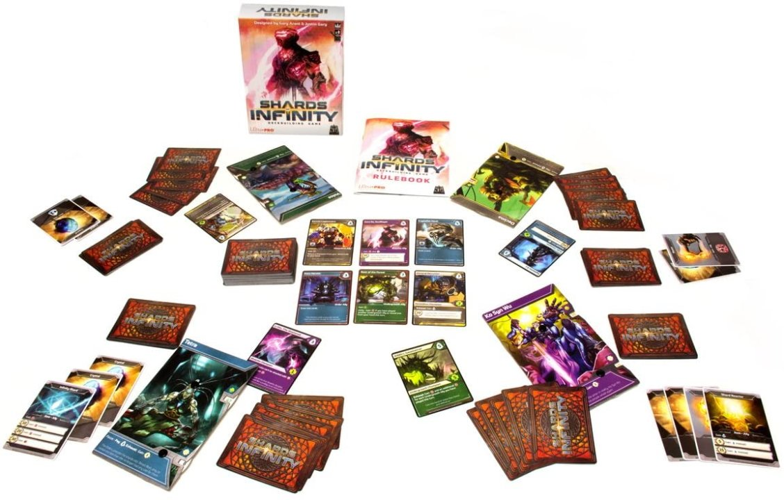 Games like Dominion Shards of Infinity best deck builders