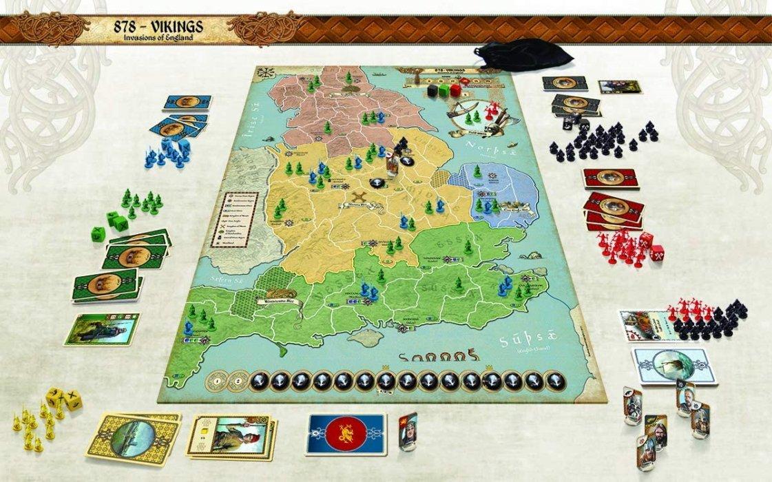 best viking board games 878 vikings invasions of england