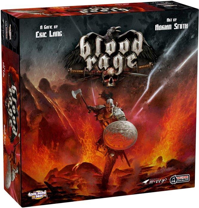 Best viking board games blood rage