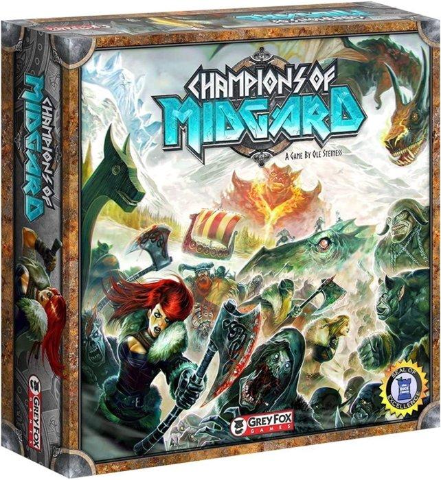 Best viking board games champions of midgard