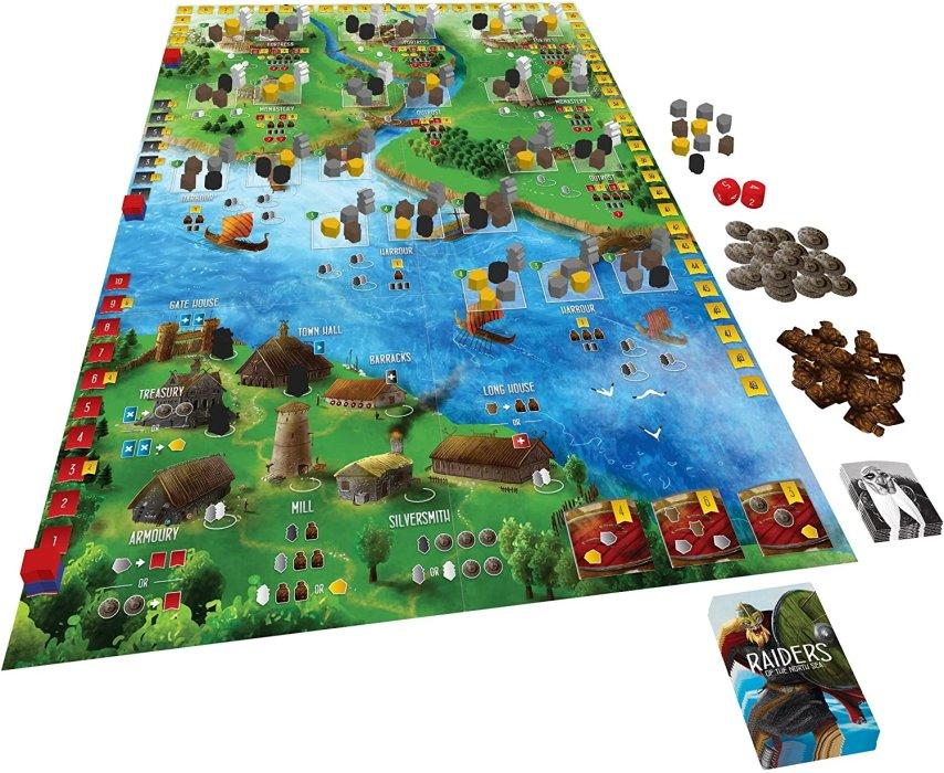 Viking board games raiders of the north sea