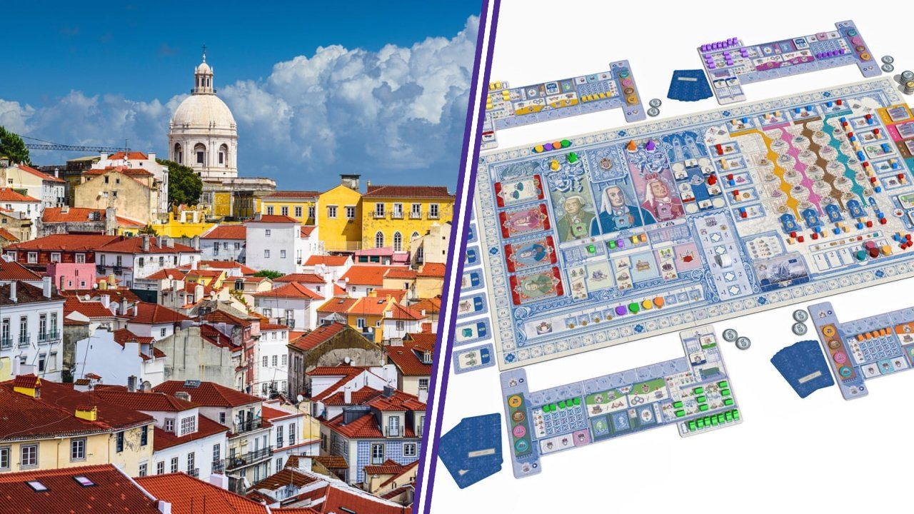 Lisboa board games to travel the world