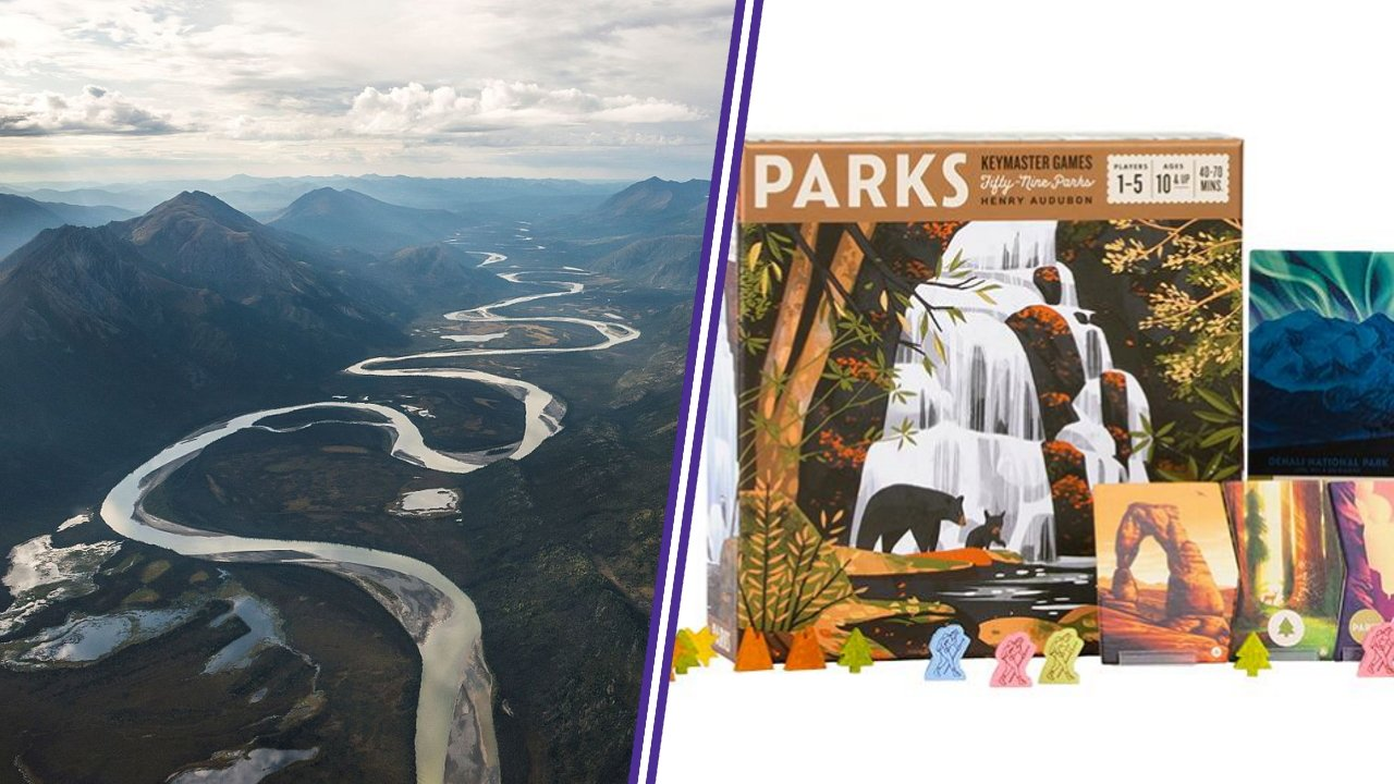 Parks travel board games countries