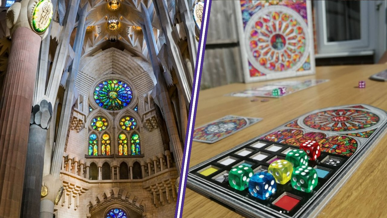 Sagrada travel board game countries