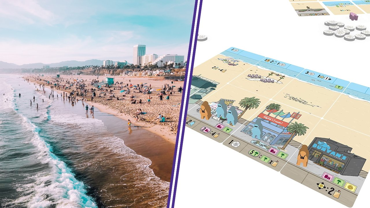 Santa monica board games to travel the world