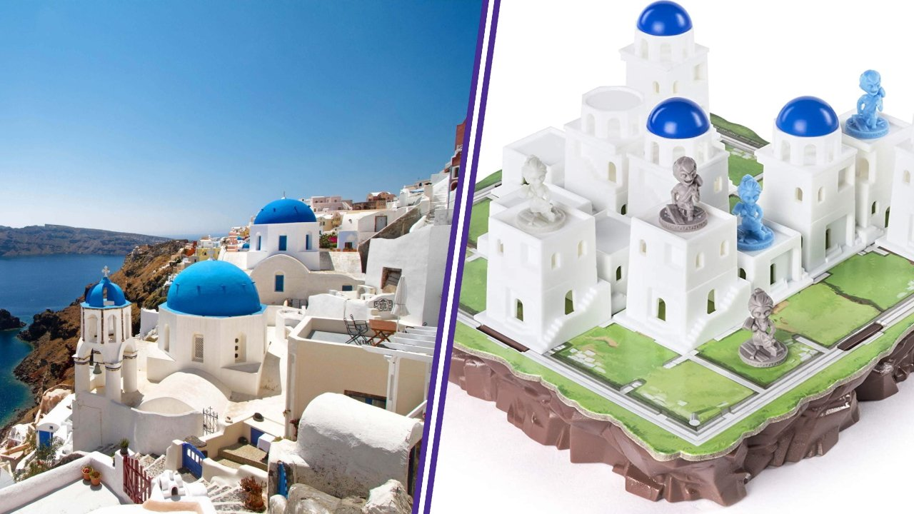 Santorini board games to travel the world