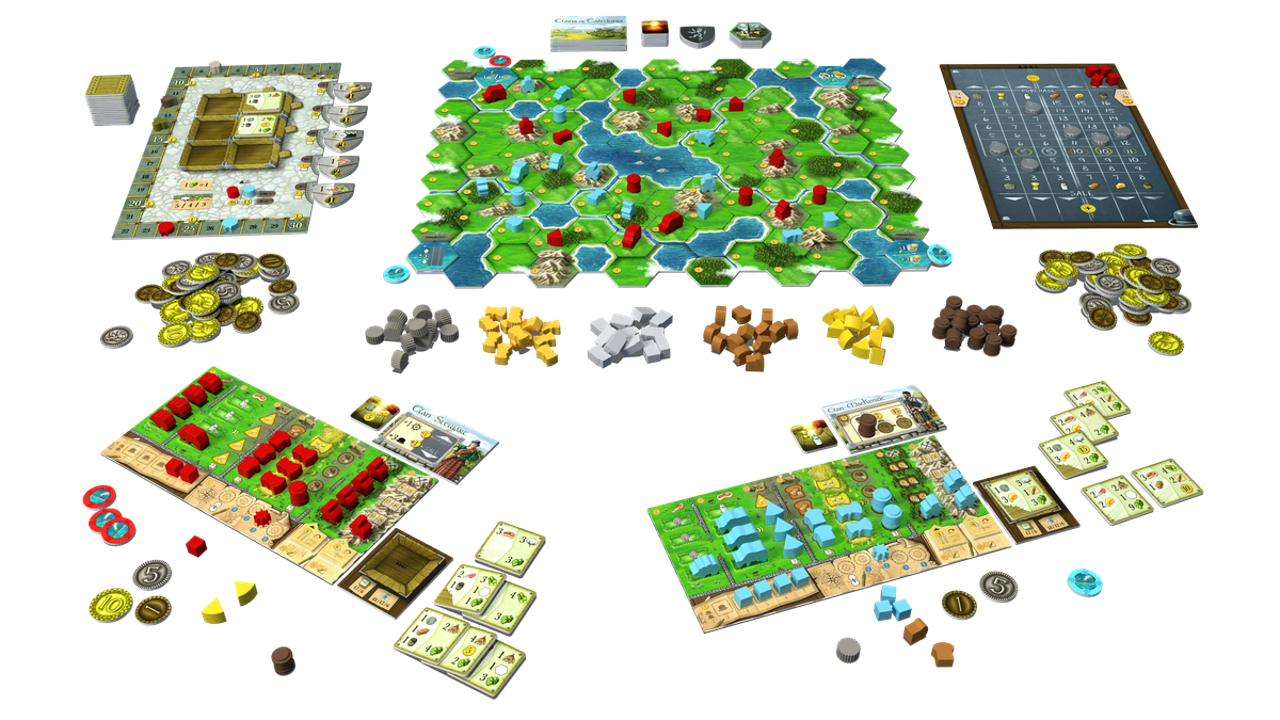 Games like Settlers of Catan - Clans of Caledonia