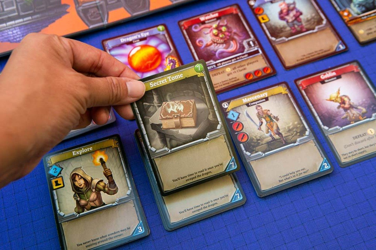 The best push your luck board games clank