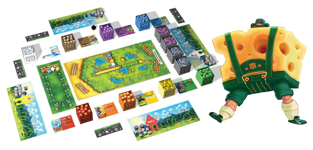 The best push your luck board games cubitos