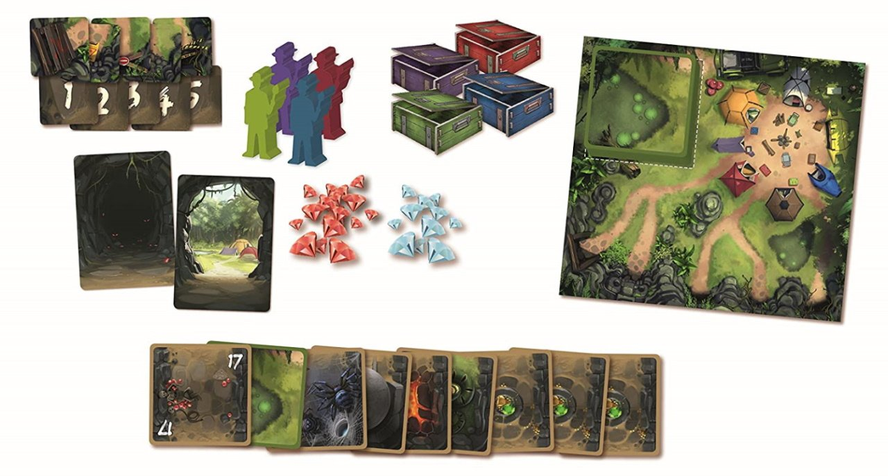 The best push your luck board games diamant incan gold