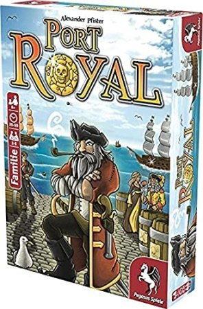 the best push your luck board games port royal