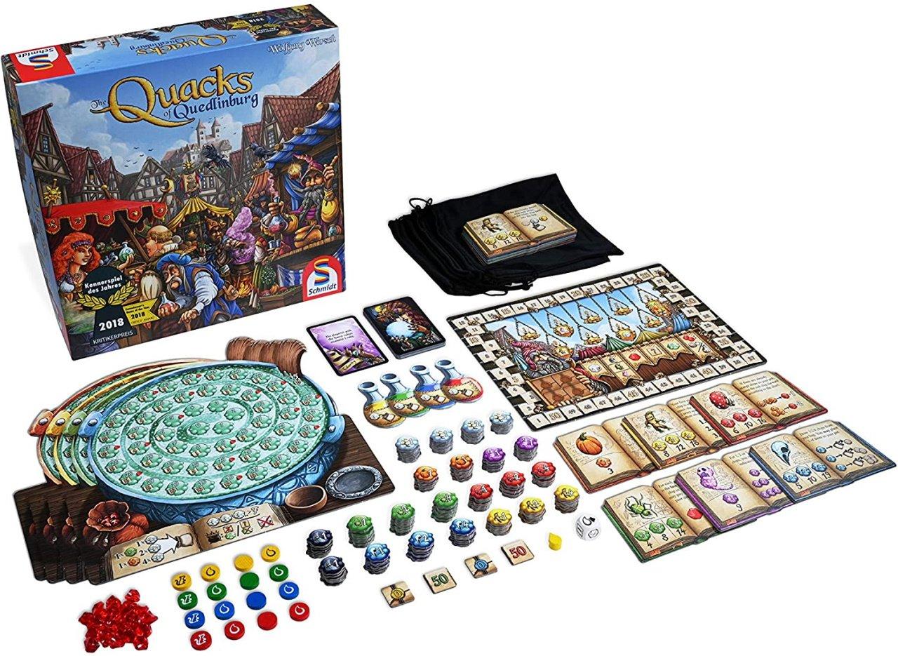 The best push your luck board games quacks of quedlinburg