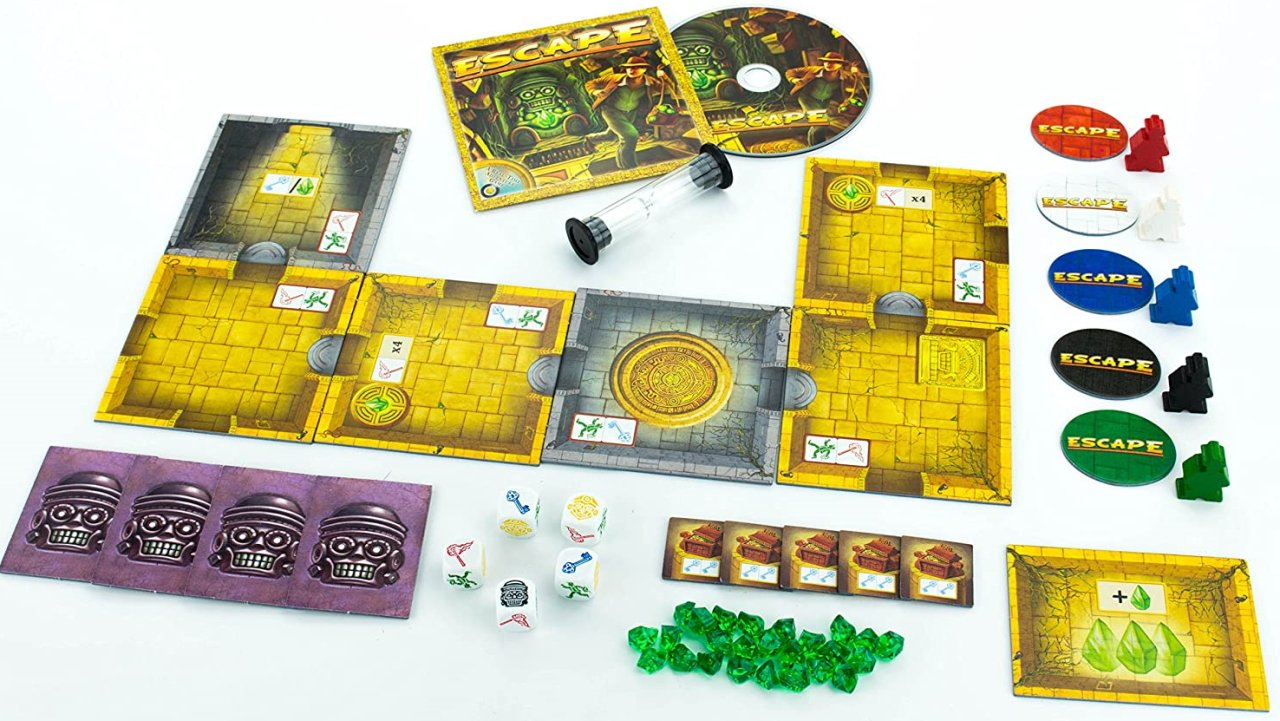 treasure-packed board games escape curse of the temple