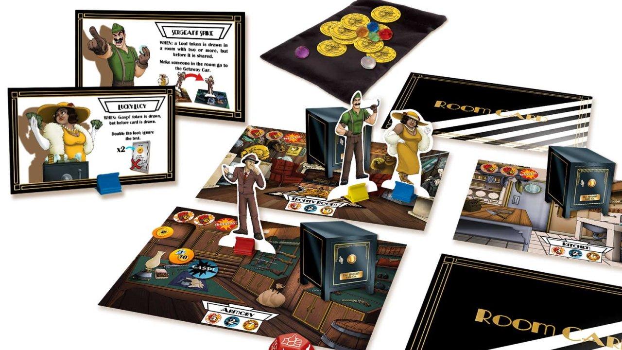 treasure packed board games mansky caper