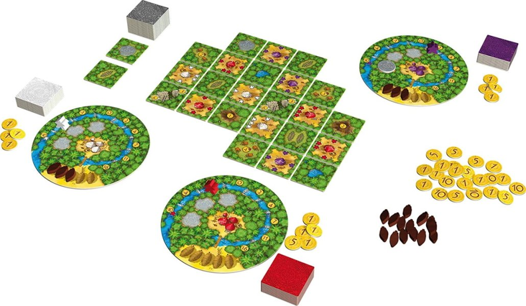 board games like carcassonne cacao