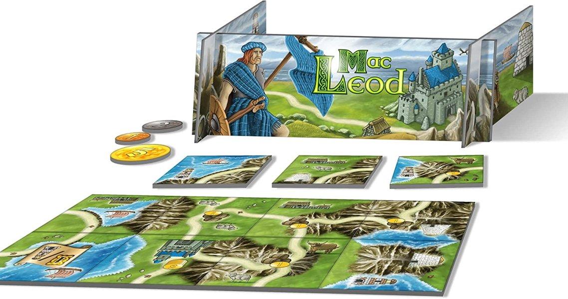 Board games like carcassonne -  isle of skye