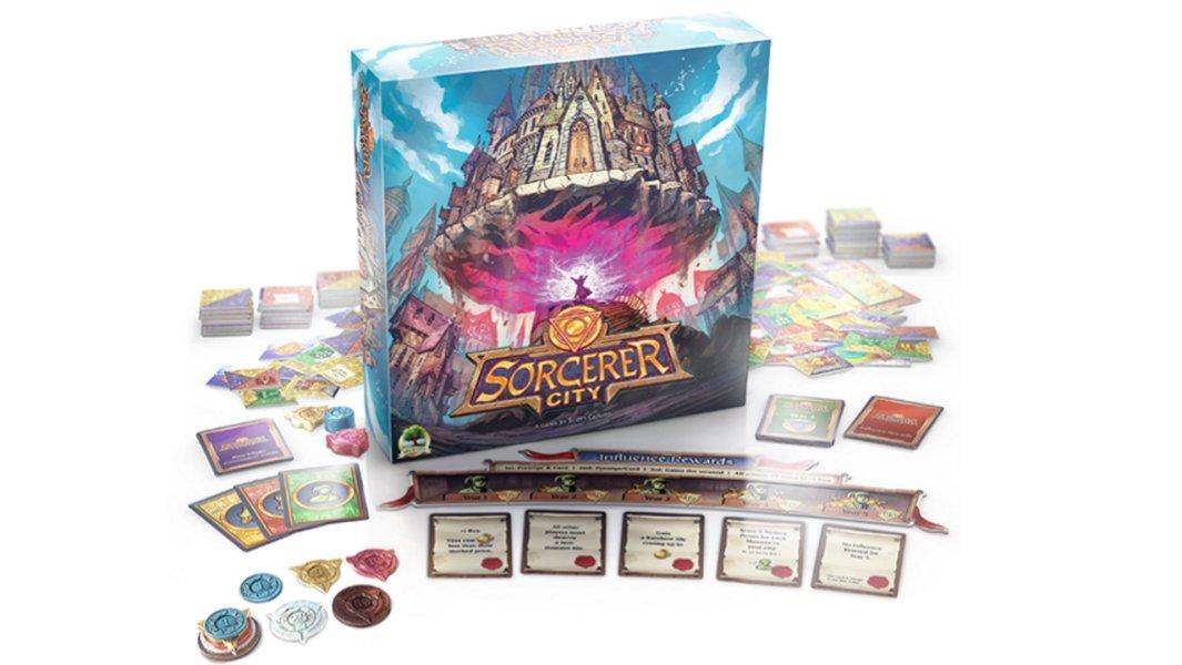 the best board games like carcassonne - sorcerer city